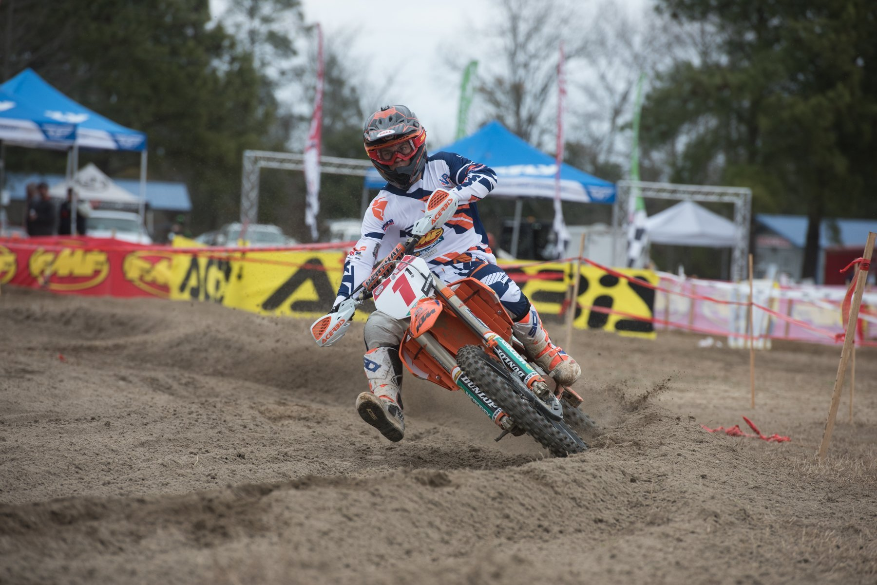 Kailub Russell Takes Win at Kenda Full Gas Sprint Enduro Series Opener