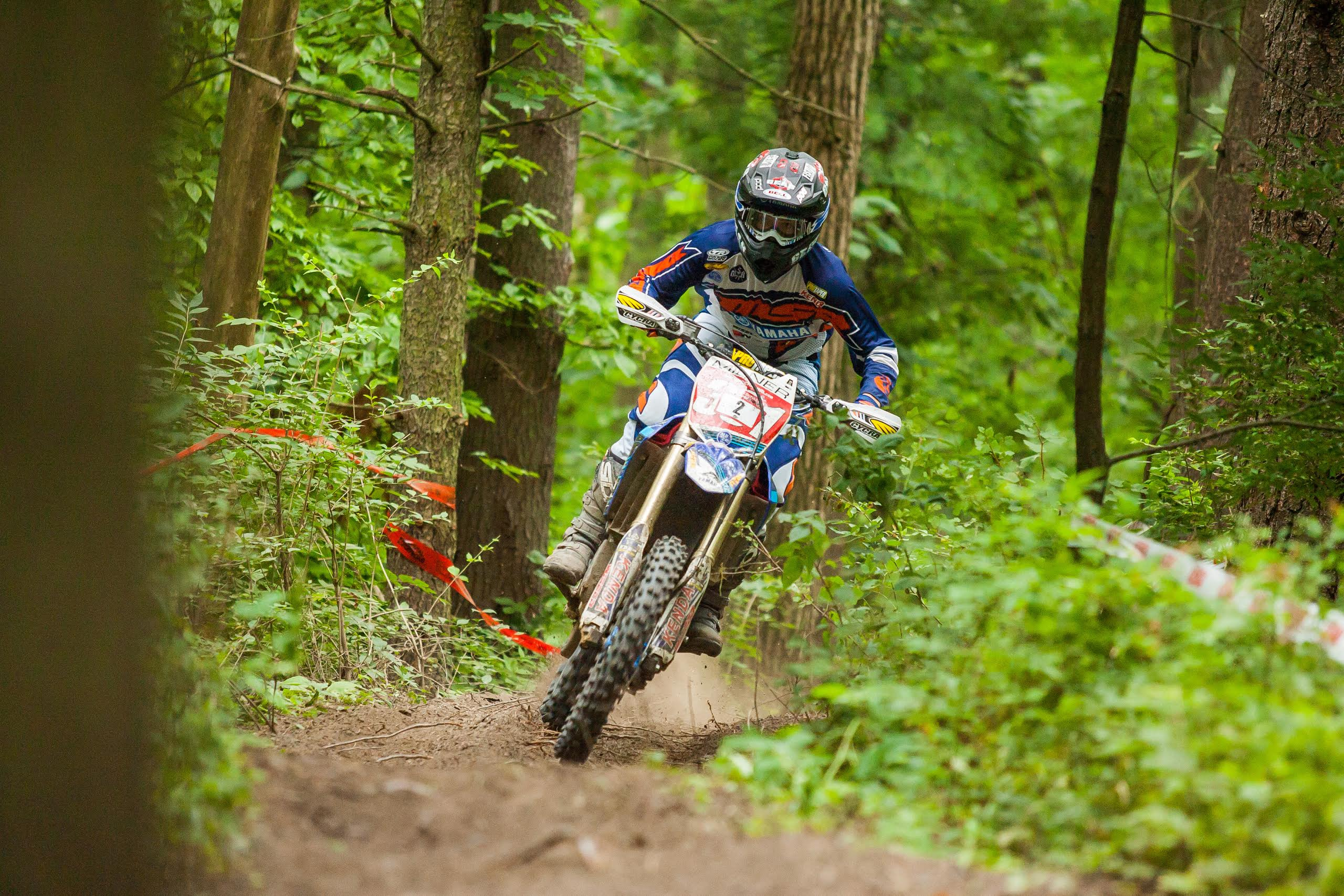 Daniel Milner Ends Kailub Russell's Sprint Enduro Win Streak with Victory at Round 3