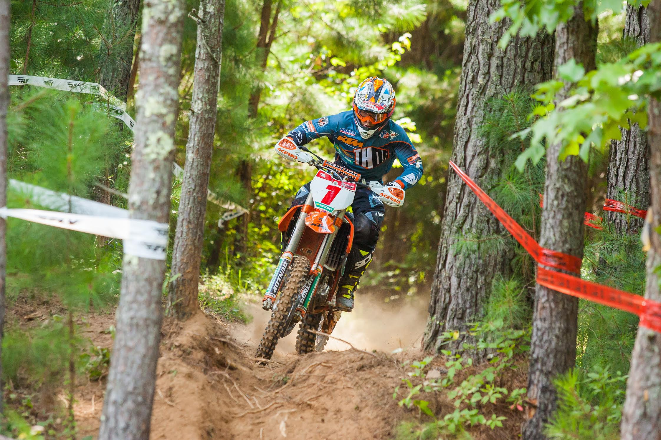 Russell Sweeps Rockcrusher Farm Sprint Enduro