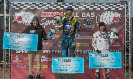Milner Opens Full Gas Sprint Enduro Season with a Win