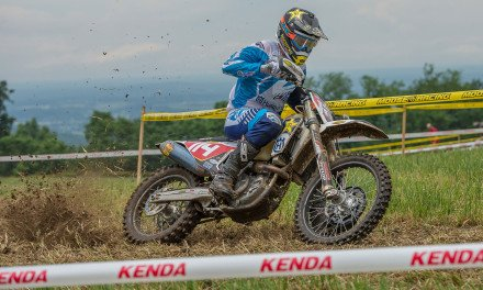 Strang Weathers Storm at Full Gas Sprint Enduro Round Four