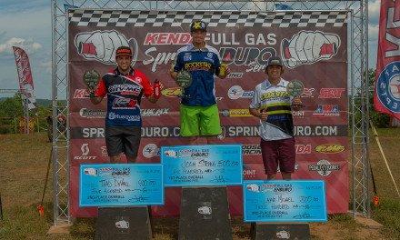 Strang Wins Sprint Enduro Scorcher