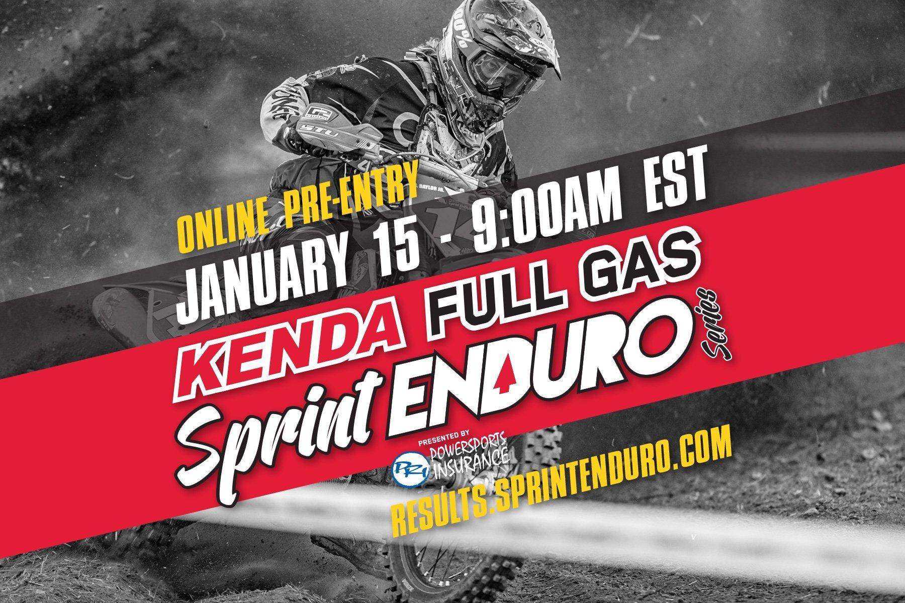 2018 Online Pre Entry Opens Jan. 15 9:00am EST