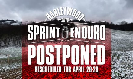 Harleywood Full Gas Sprint Enduro Postponed