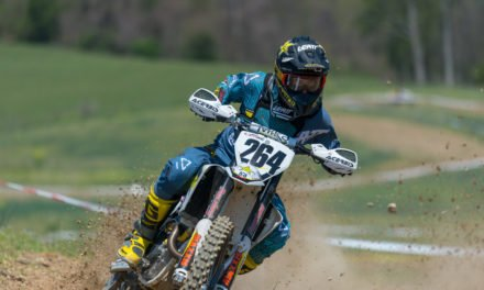 Sipes Edges G. Baylor at Harleywood Full Gas Sprint Enduro
