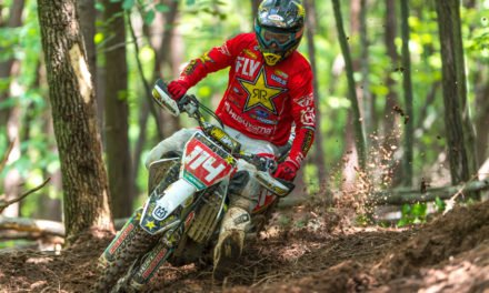 Josh Strang Tops Lake Sugar Tree Full Gas Sprint Enduro
