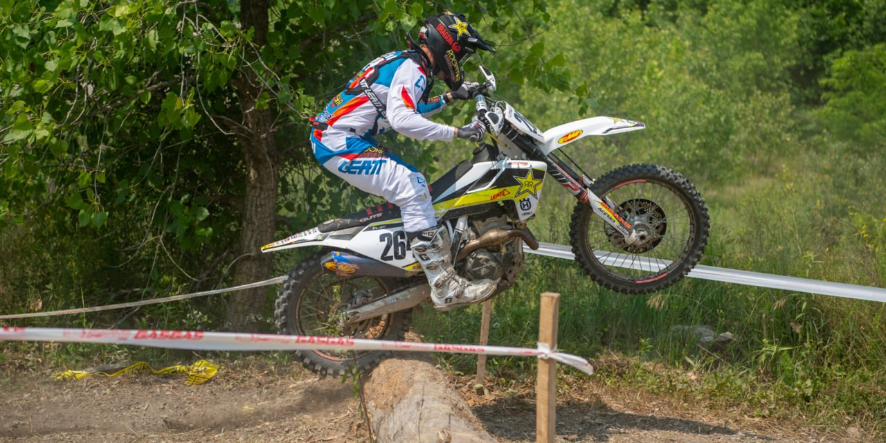 Sipes Digs to Jolly Mine Sprint Enduro Victory