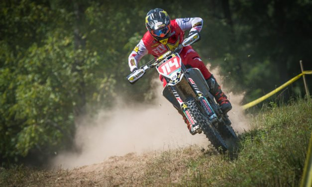 Strang Strikes At Wade Farm Sprint Enduro