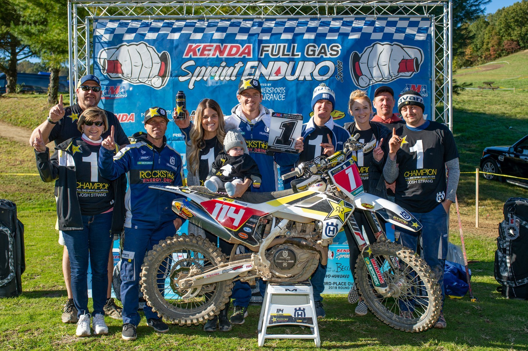 Baylor Wins Battle, Strang Wins War At Hidden Valley Sprint Enduro