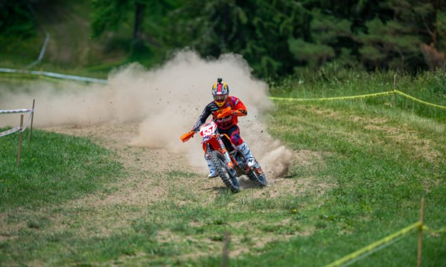 Kailub Russell Tops Hidden Valley Golf Full Gas Sprint Enduro