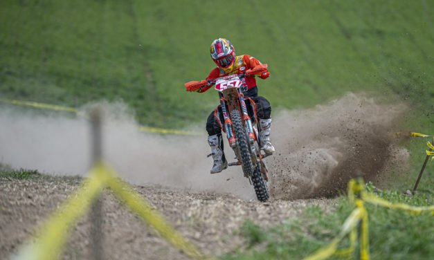Kailub Russell Tops Harleywood Full Gas Sprint Enduro