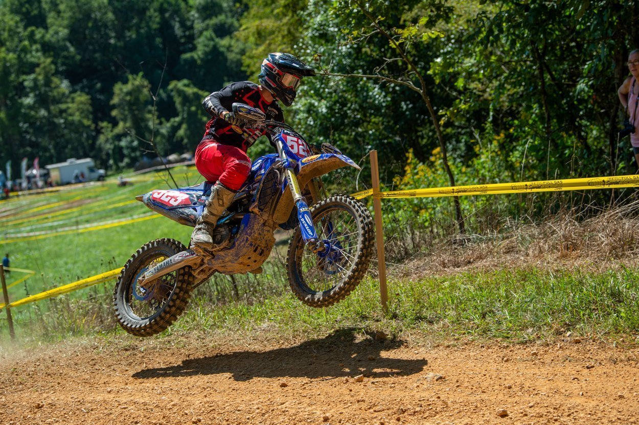 Layne Michael, Kailub Russell Split Wins At Harleywood Full Gas Sprint Enduro