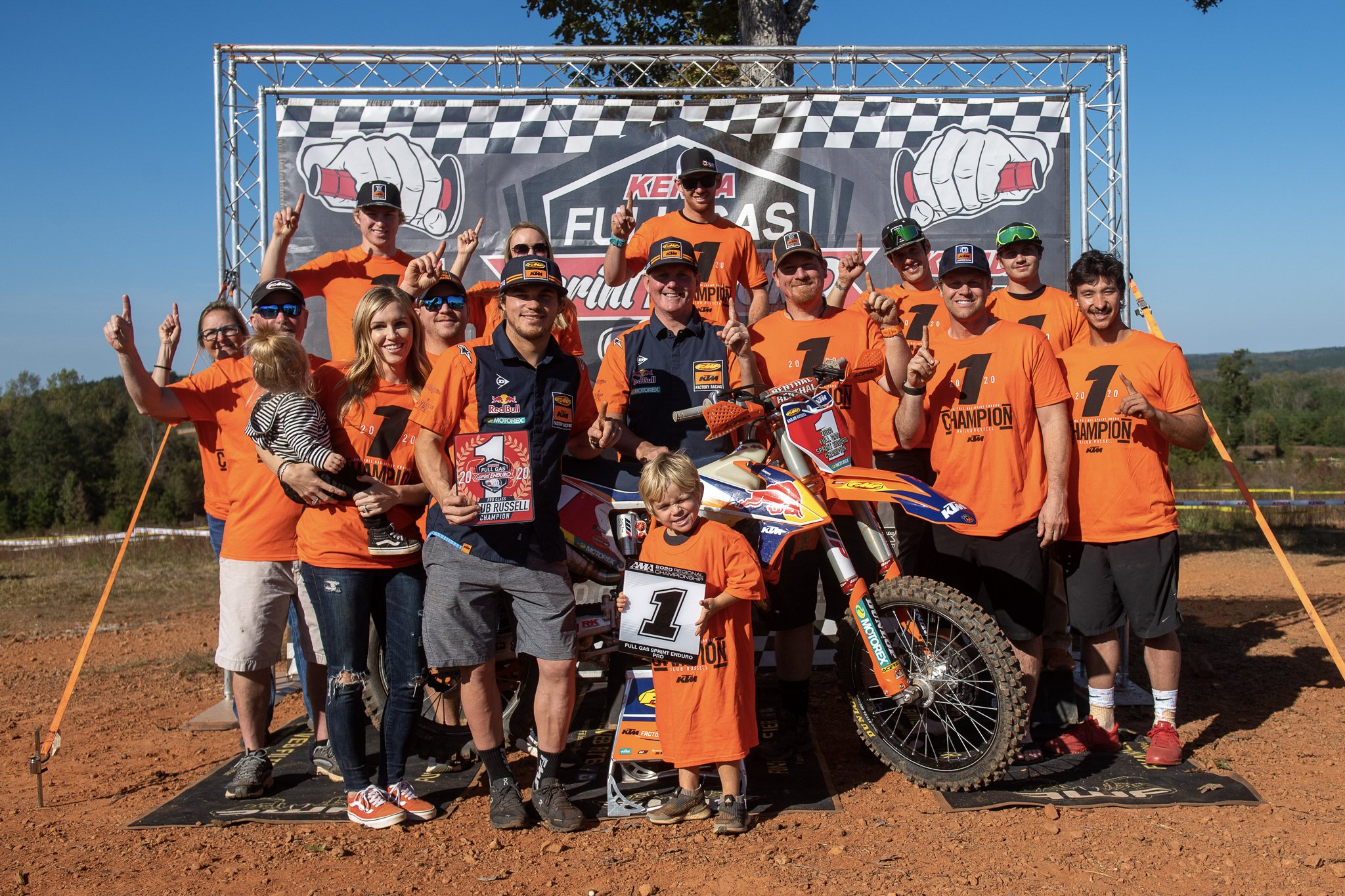 Kailub Russell Claims Full Gas Championship with Win at Silver Hawk Plantation